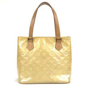 100% authentic Louis Vuitton Monogram Vernis Houston M91004 handbag used 24-1-a