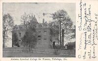 D46/ Talladega Alabama AL Postcard 1905 Synodical College for Women
