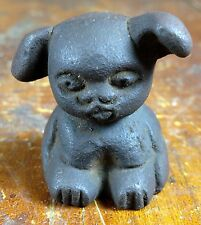 Cast Iron Puppy Dog Paperweight Store Advertising Griswold Cookware Paper Weight
