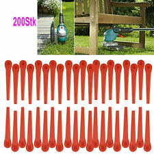 200x plastic knife replacement knife for Gardena grass trimmer EasyCut Li-18/23R