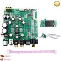 ES9038Q2M DAC Board Decoder w/ Screen Support IIS DSD Optic Fiber Coaxial ot16