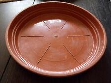 Soucoupe Ø24 cm pour pot de fleur marron