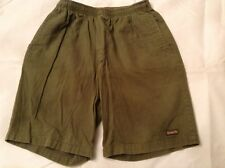 Vintage Scorpion Bay Elastic Waist Men's Small S Shorts Green
