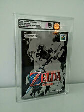 Legend of Zelda Ocarina of Time N64 NES New Sealed VGA 85 1st Print Mint Icon!