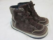 Merrell Puffin Lace Mid Brown Women's Size US 6.5 Boots Primaloft & Thinsulate