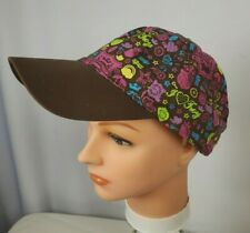 Disney One Size Brown/Pink/Blue/Lime High School Musical Troy Baseball Cap