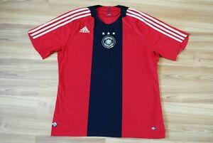 SIZE L GERMANY NATIONAL TEAM 2008/2009 AWAY FOOTBALL SHIRT JERSEY TRIKOT LARGE