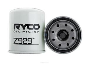 Oil Filter Ryco Z929 for Isuzu D-MAX TFR TFS 3L CRDI MU-X LS 3L DIESEL