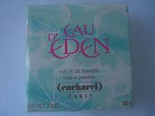 EAU D'EDEN CACHAREL SAVON-SOAP de paradis 100g  RARE ORIGINAL VINTAGE