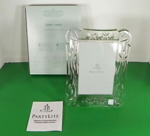 PartyLite P7086 Signature Crystal 4x6 Photo Frame Glass