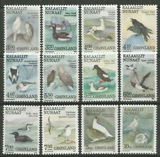 STAMPS-GREENLAND. 1987. Birds Set. SG: 172/83. Mint Never Hinged.