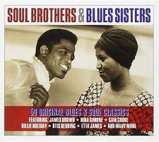 Soul Brothers & Blues Sisters 2-CD NEW SEALED Sam Cooke/Nina Simone/Otis Redding