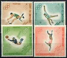 Laos 1968 SG#252-255 Olympic Games MNH Set #D58935