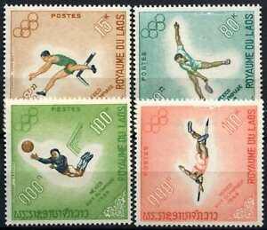 Laos 1968 SG#252-255 Olympic Games MNH Set #D58935