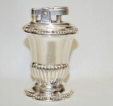 "Vintage Silverplate Ronson ""MAYFAIR"" Table Lighter in Working Condition"