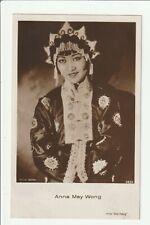ANNA MAY WONG 1930s Photo Postcard