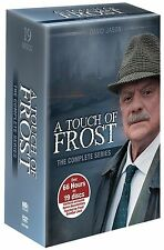 A TOUCH OF FROST: THE COMPLETE SERIES (1-15) BRAND NEW 19-DISC BOX SET