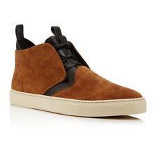Ermenegildo Z ZEGNA Brown & Black Chukka Boots Trainers 8 / 42 RRP: £325.00