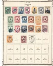 Haiti on 2 Pages 1904-1906