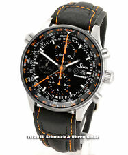 Sinn Armbanduhren aus Edelstahl mit Chronograph