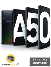 New Samsung Galaxy A50 64GB &128GB DualSIM 4G LTE Smartphone Android 4 Colours