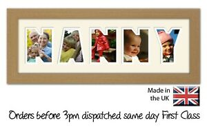 Nanny Photo Frame by Photos in a Word, Gift for Nanny
