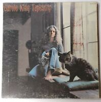 Carol King - Tapestry - LP - Ode Records 1971 SP 7709 Record VG Sleeve G+