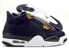 3b4765acee0 Nike Air Jordan Retro 4 Royalty Black metallic Gold Youth Sz 6.5y 408452 032