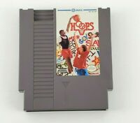 Nintendo NES Jaleco Hoops Video Game Cartridge with Black Cartridge Holder