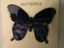 LAZART PRODUCTIONS BEAUTIFUL BUTTERFLY PIN  - NEW ON CARD