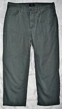 NYDJ Not Your Daughters Gray Denim Capri Jeans Womens Sz 2 TUCK & LIFT Straight