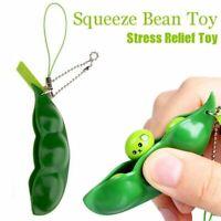 Pea pod Pop It Bubble Fidget Toy Push Bubble Stress Relief Kids Autism AU STOCK