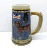 Anheuser-Busch, Inc. 1989 1990 Collector's Series Budweiser Beer Stein