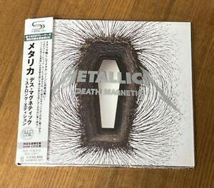 METALLICA - DEATH MAGNETIC - JAPAN SHM-CD W/OBI UICR-9028