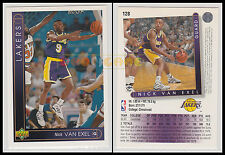 NBA UPPER DECK 1993/94 - Nick Van Exel # 128 - Lakers - Ita/Eng - MINT