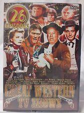 Great Western TV Shows - Five DVD Set (DVD, 2003, 5-Disc Set)