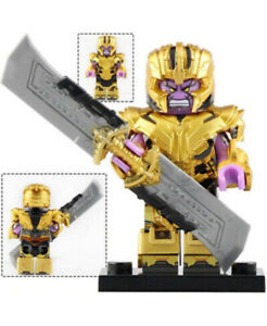 Minifigures - THANOS (Endgame) with Exclusive 7pc Armor - US Seller