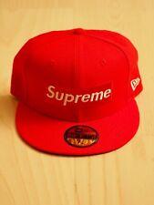 Supreme x New Era Cap Rip & Box Logo | Red | 7 3/8 | FW16