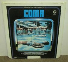COMA [1978], original RCA Selectavsion CED VideoDisc, 1981, VG