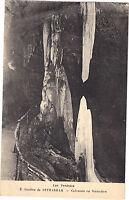 65 - CPA - Grottes de Betharram - Columnas en Entrenamiento