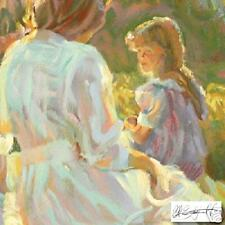"""DON HATFIELD """"AFTERNOON CHAT"""" SOLD OUT NEW SERIGRAPH"""