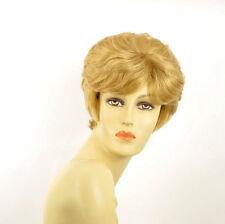 Perruque femme courte blond clair doré DANA LG26