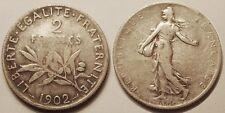 2 Francs Semeuse Argent 1902 !!