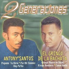 Gringo De La Bachata, El Y ...-Dos Generaciones:... CD NEW