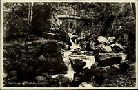 BAD HARZBURG LK Goslar 1931 AK Riefenbachfälle Natur Wasserfall Waterfall