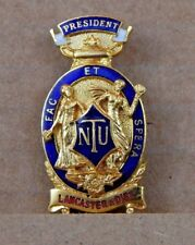 National Union of Teachers Lancaster And District President Badge
