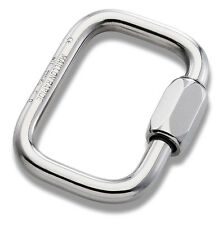 10mm Square Maillon Rapide - Galvanised Steel 45KN PPE