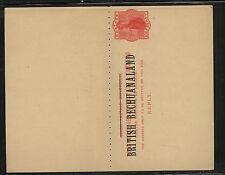 British  Bechuanaland  postal reply card unused       MS0723