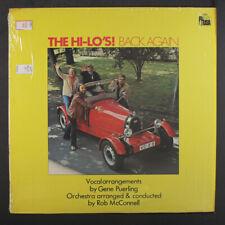 HI-LO'S: Back Again LP (shrink, light staining @ jacket opening) Vocalists