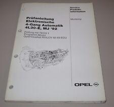 Werkstatthandbuch Opel Monterey 4 Gang Automatik 4L30-E Modelljahr 1992!